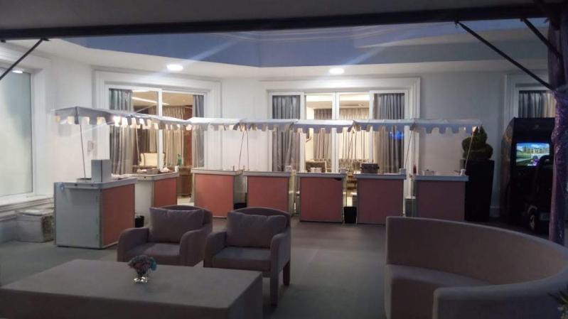 Aluguel de Barraquinha de Festa de Casamento Jardim Jaqueline - Barraquinha para Festa Buffet