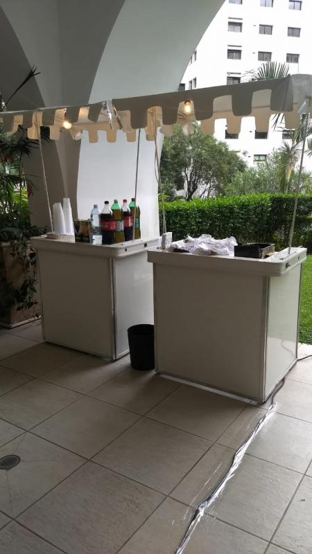 Barraquinha de Comida Festa Infantil Vila Clementino - Barraquinha para Festa Buffet