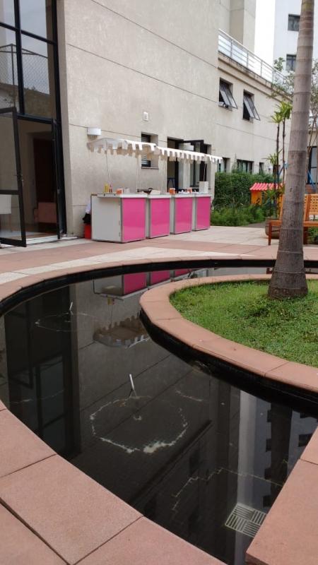Barraquinha de Crepe no Palito Valor Jardim Morumbi - Barraquinha para Crepe para Festa