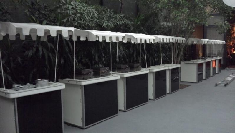Barraquinha de Crepe para Festa Infantil Alto de Pinheiros - Barraquinha Crepe em Palito