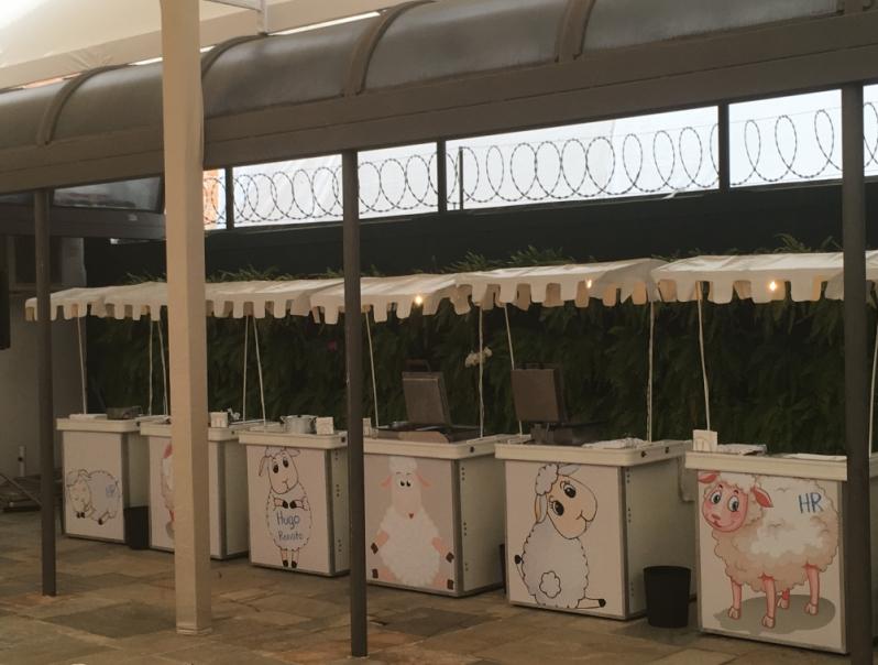 Barraquinha de Festa de Casamento Jardim Londrina - Barraquinha de Comida Festa Infantil
