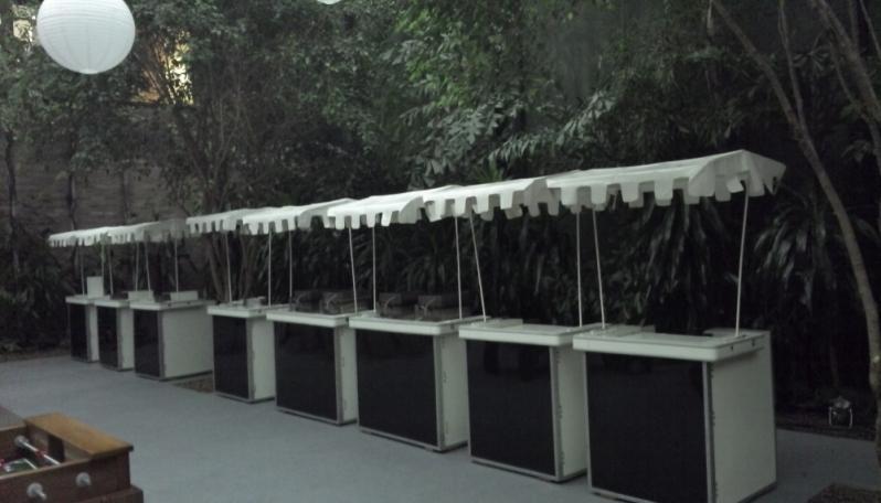 Barraquinha de Hambúrguer para Evento Corporativo Alugar Casa Verde - Barraquinha de Hambúrguer Artesanal