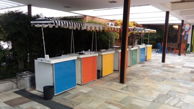 Barraquinha de Hambúrguer para Festa de Empresa Jardim Trussardi - Barraquinha de Hambúrguer Artesanal