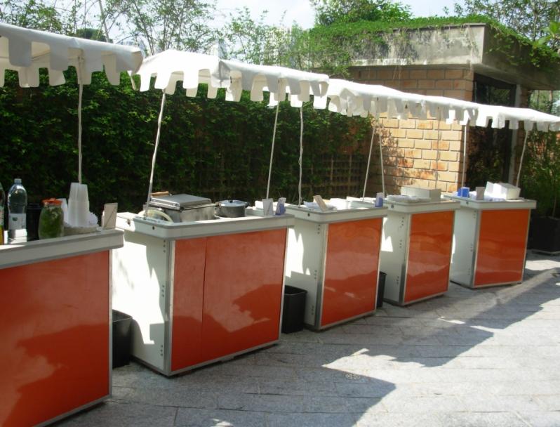 Barraquinha de Pastel Completa Aluguel Jardim Morumbi - Barraquinha de Pastel Simples