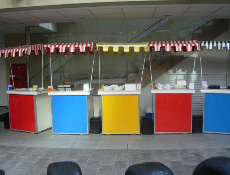 Barraquinha de Pastel de Festa Jardim Celeste - Barraquinha de Pastel para Festa de Casamento