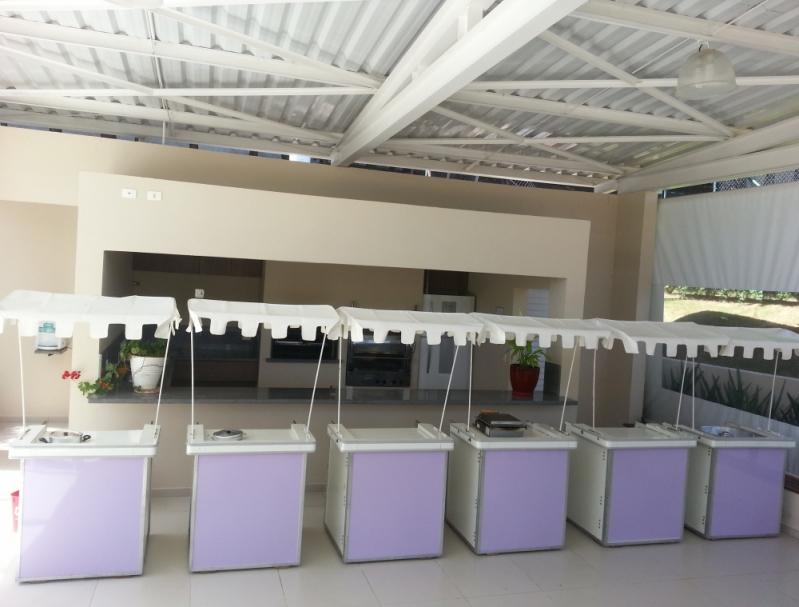 Barraquinha de Pastel Fechada Aluguel Jardim América - Barraquinha de Pastel para Evento Corporativo