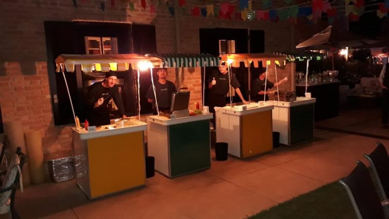 Barraquinha de Pastel para Festa de Casamento Aluguel Vila Guilherme - Barraquinha de Pastel para Evento Corporativo