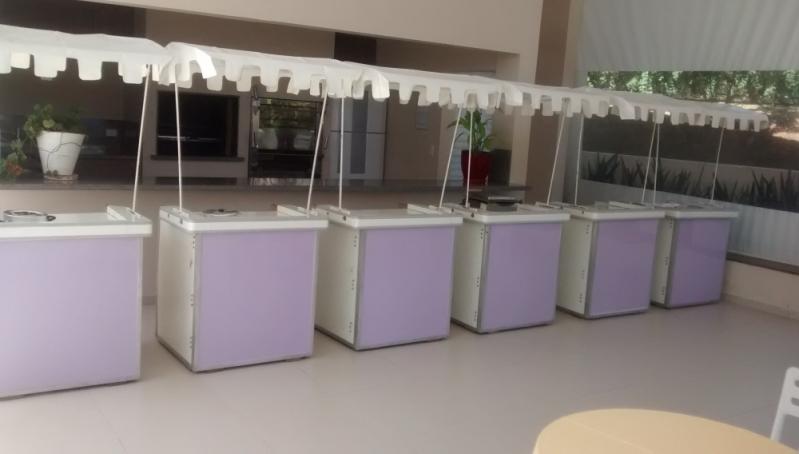 Barraquinha de Pastel para Festa Infantil Pompéia - Barraquinha de Pastel de Festa a Domicílio