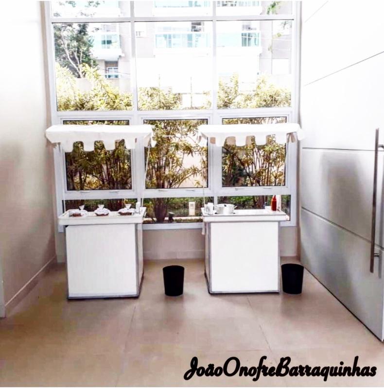 Barraquinha de Pastel Personalizada Aluguel Casa Verde Média - Barraquinha de Pastel Simples