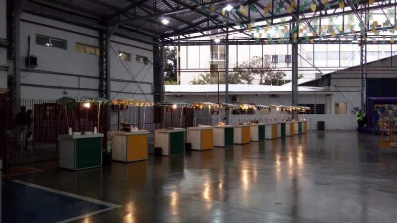 Barraquinha Festa de Empresa Preço Alto de Pinheiros - Barraquinha para Festa Buffet