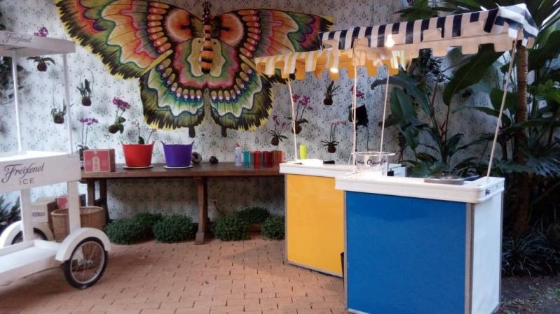 Barraquinha Festa de Empresa Jardim Guedala - Barraquinha para Festa