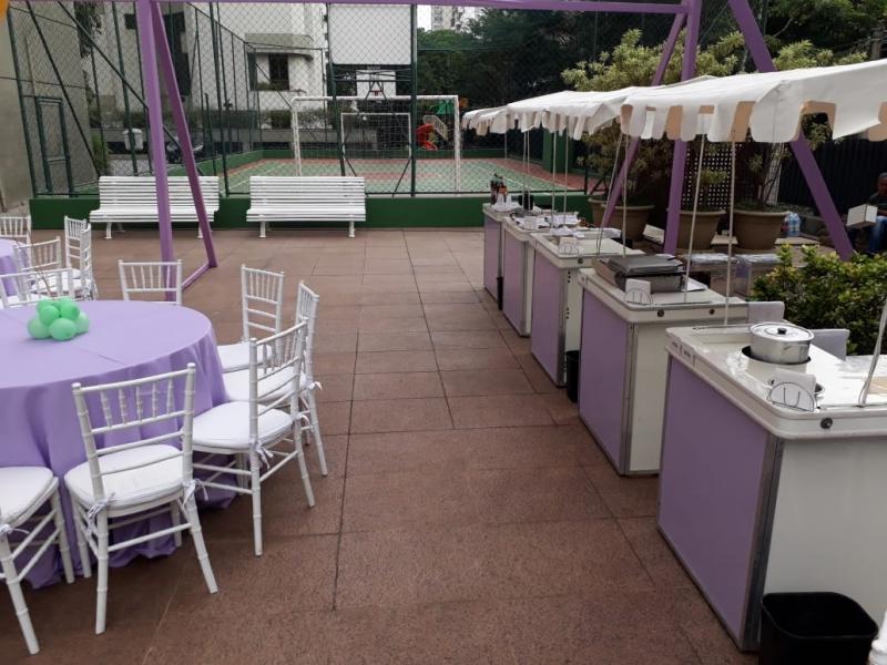 Barraquinha para Festa a Domicilio Jardim Bonfiglioli - Barraquinha Festa de Empresa