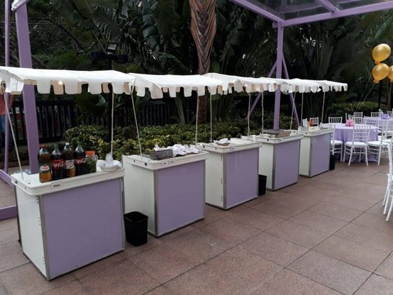 Barraquinha para Festa Buffet Pompéia - Barraquinha para Festa