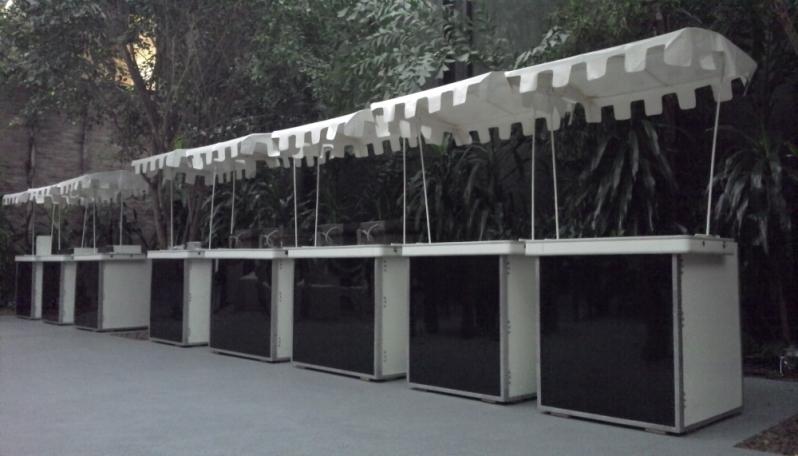 Barraquinhas de Crepe Suiço de Festa Parque Residencial da Lapa - Barraquinha para Crepe Suiço