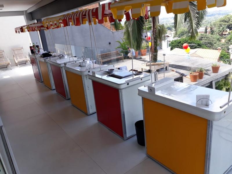 Barraquinhas de Festa Empresarial Jardim Alvorada - Barraquinha para Festa Buffet