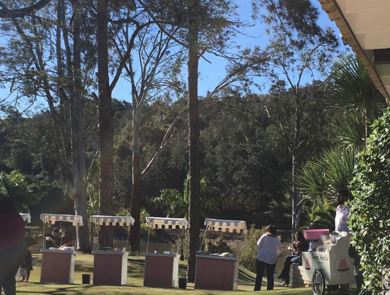 Barraquinhas de Hambúrguer para Festa de Empresa Jardim Leonor - Barraquinha de Hambúrguer para Festa