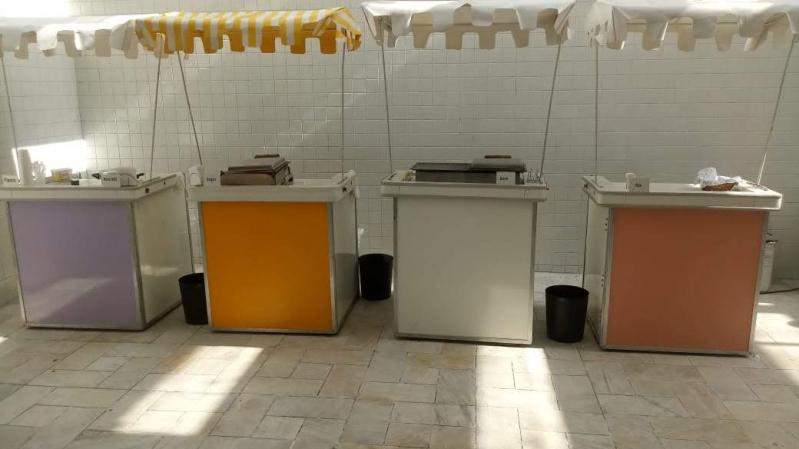 Barraquinhas de Pastel para Festa de Casamento Vila Olga - Barraquinha de Pastel Personalizada