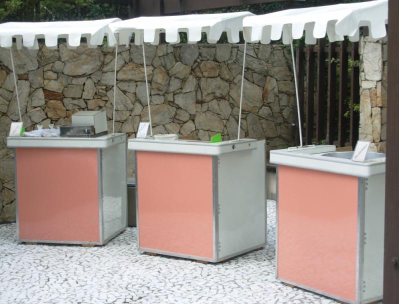 Barraquinhas de Pastel para Festa Jardim Paulistano - Barraquinha de Pastel de Festa de Empresa