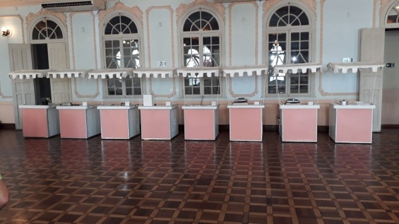 Locação de Barraquinha Crepe no Palito Ibirapuera - Barraquinha Crepe no Palito