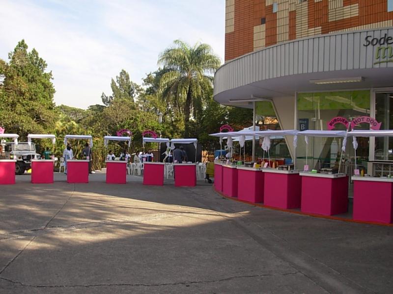 Quero Alugar Barraquinha de Mini Pizza Festa Jardim Paulistano - Barraquinha de Mini Pizza para Evento Empresarial