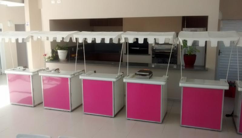 Quero Locar Barraquinha de Pastel Fechada Parque Ibirapuera - Barraquinha de Pastel Simples