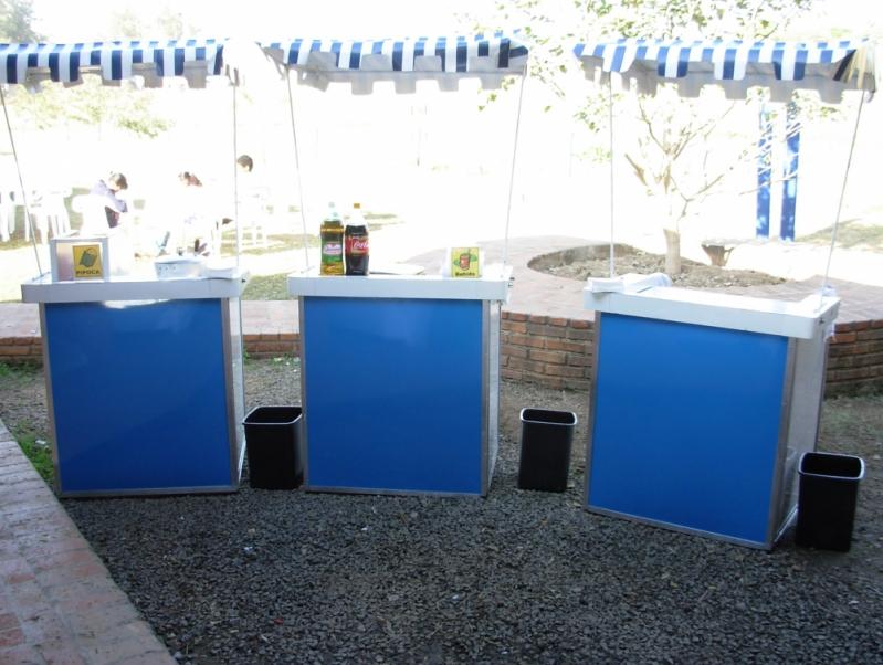 Quero Locar Barraquinha de Pastel Personalizada Cidade Jardim - Barraquinha de Pastel para Evento Corporativo