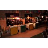 barraquinha de hambúrguer de festa alugar Parque Residencial da Lapa