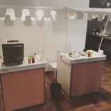 barraquinha de hambúrguer de festa infantil alugar Vila Clementino