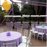 barraquinha de hambúrguer para festa de casamento Jardins