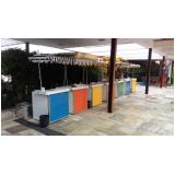 barraquinha de hambúrguer para festa de empresa Ibirapuera