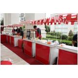barraquinha de hambúrguer para festa infantil Vila Albano
