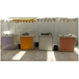 barraquinhas de comida festa infantil Jardim Vazani