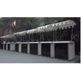barraquinhas de crepe suiço de festa Parque Ibirapuera