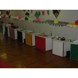 barraquinhas de mini pizza para festa de casamento Vila Mariana