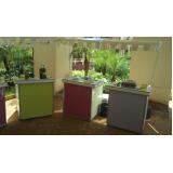 barraquinhas de pastel fechada Jardim Morro Verde