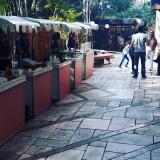 barraquinhas de pastel simples Jardim das Acácias