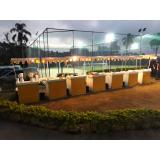 barraquinhas de salgados para evento corporativo Vila Albertina