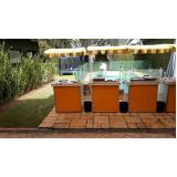 barraquinhas de salgados para festa infantil Vila Clementino