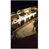 barraquinhas para festa buffet Ibirapuera