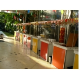 contratar barraquinha de salgados artesanal Conjunto Residencial Butantã