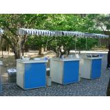 preço de barraquinha de crepe no palito Parque Ibirapuera