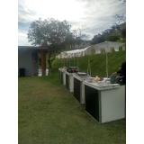 quero alugar barraquinha de mini pizza para buffet Vila Prado