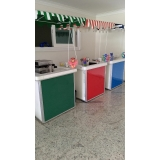 quero alugar barraquinha de mini pizza para evento corporativo Jardim Morumbi