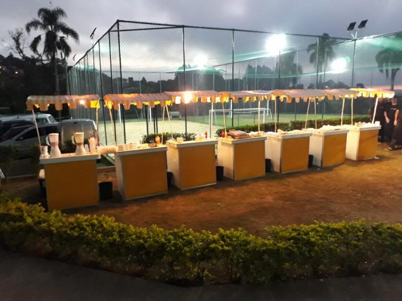 Valor de Barraquinha para Festa Buffet Jardim das Vertentes - Barraquinha de Comida Festa Infantil